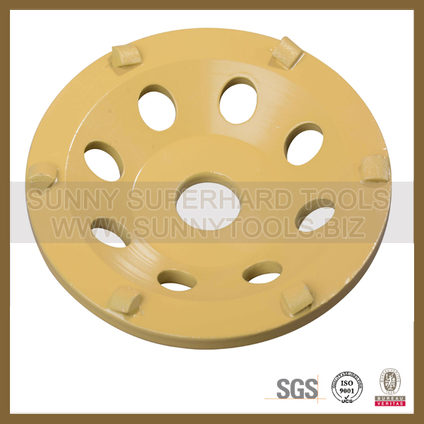 PCD Diamond cup grinding wheel for concerete terrazzo grinder machine