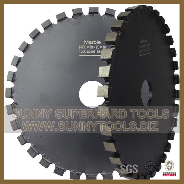 Diamond Tuck Point Blades Crack Chaser Blades for Stone and Concrete