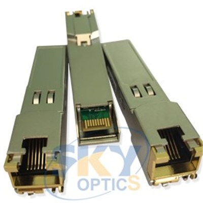 Unique GLC-10G-T 10GBase-T RJ45 SFP+ 30 meters Copper  transceiver
