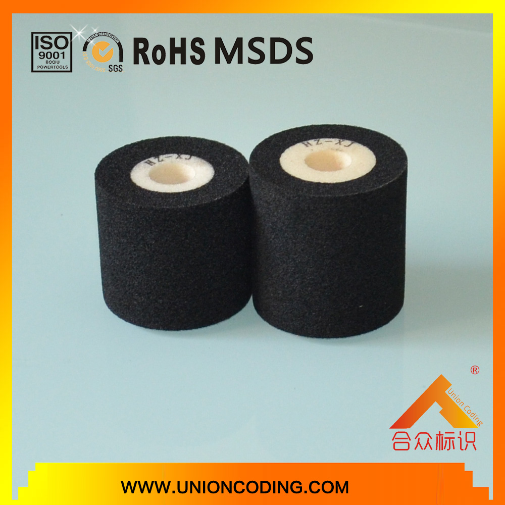 Diameter 36mm Black color date coding ink rolls for MY380 coding machine