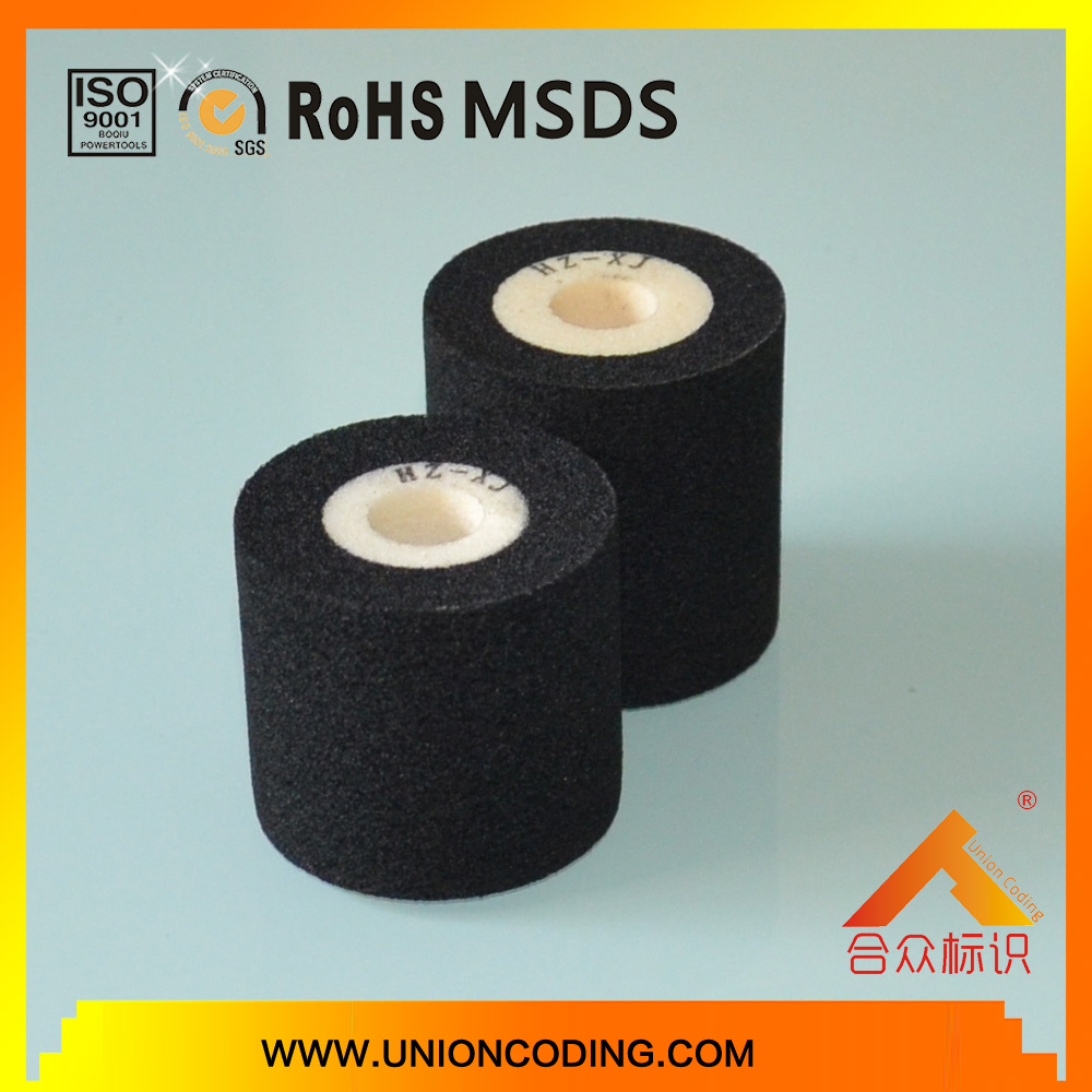 Diameter 36mm Black color hot dry roller for MY380 coding machine