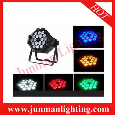 18*15w RGBWA LED Par Light 5 In 1 Par64 Stage Lighting