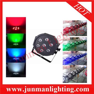 7*10w RGBW 4 In 1 LED Par Light Stage Lighting Effect