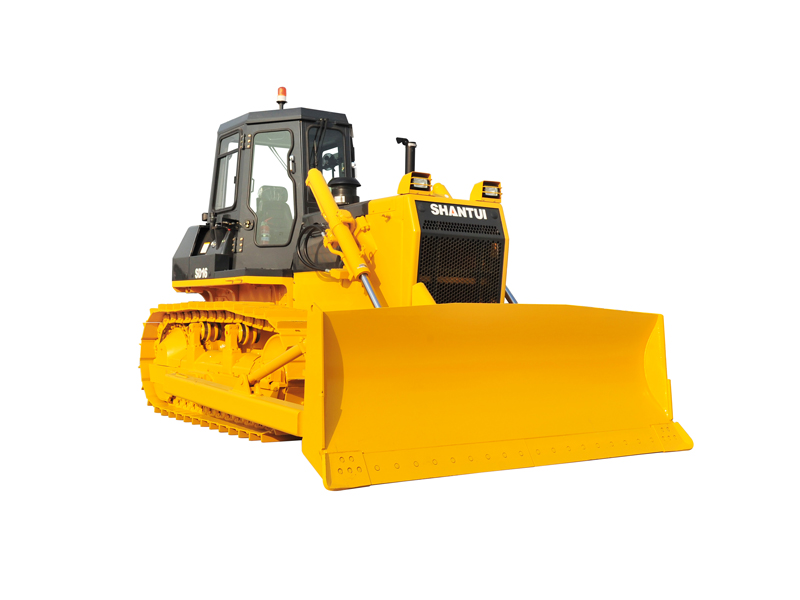Operating weight 16240kg,SHANTUI SD16 hydraulic drive series bulldozer