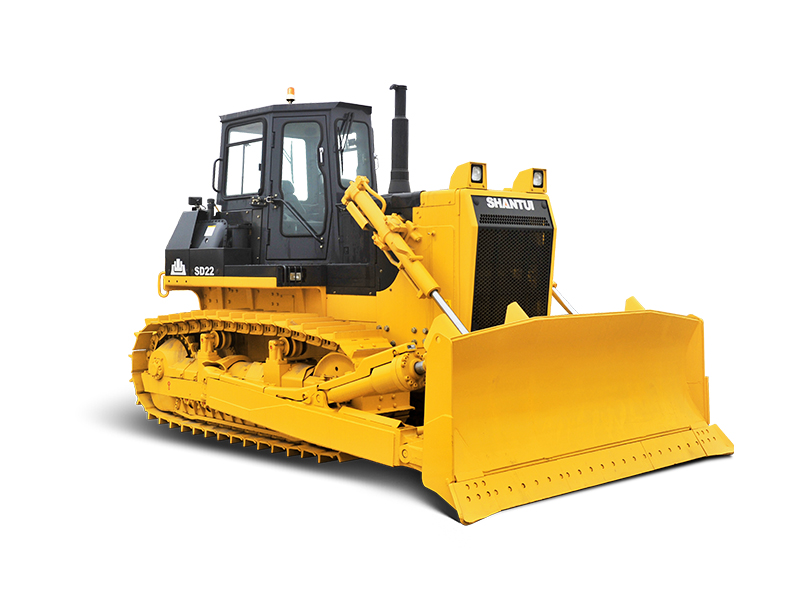 Operating weight 23.4T,power rated 162kw SHANTUI SD22 bulldozer