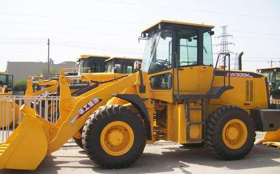Rated load 3.0T, Bucket capacity 1.8 m3 pay loader, XCMG Wheel Loader LW300K