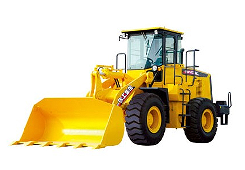 Rated load 4.0T, Bucket capacity 2.4 m3 pay loader, XCMG Wheel Loader LW400k