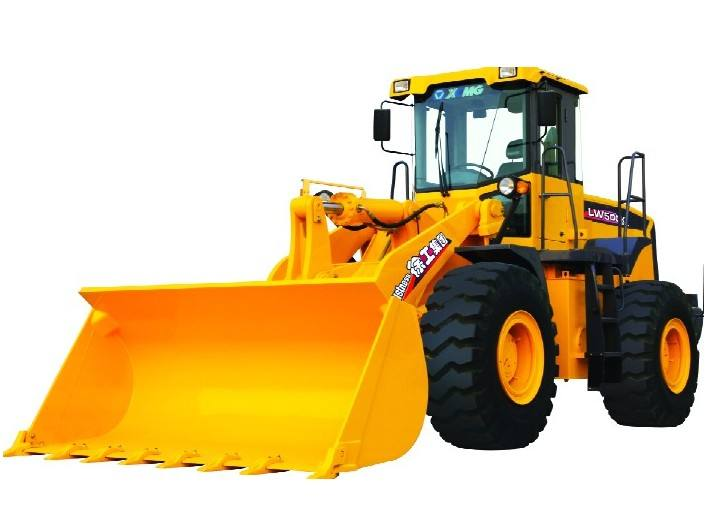 Rated load 5.0T, Bucket capacity 3 m3 pay loader, XCMG Wheel Loader LW500k