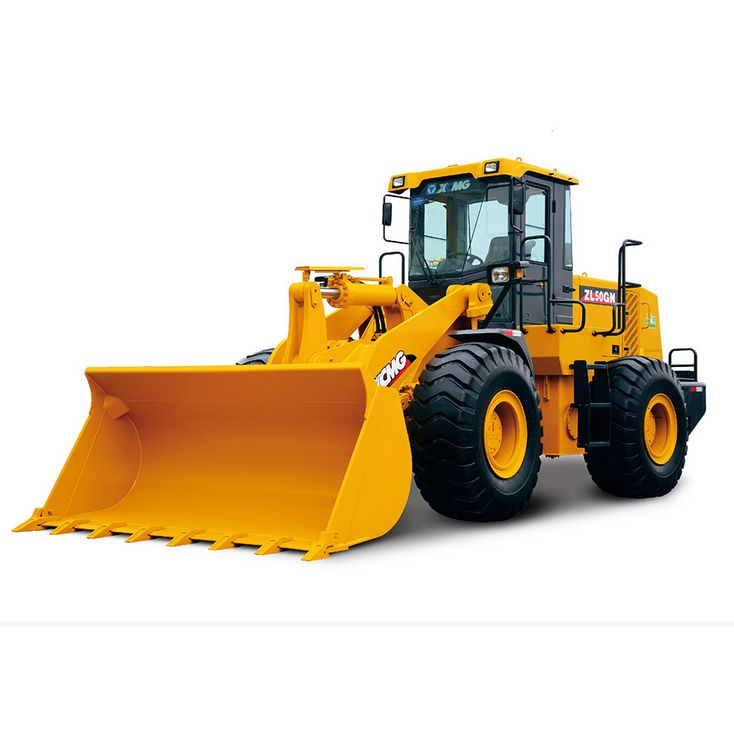 Rated load 5.0T,Bucket capacity 3 m3 pay loader, XCMG Wheel Loader ZL50G Rock Bucket