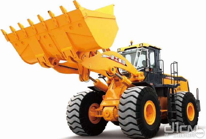 Rated load 6.0T, Bucket capacity 3.5 m3 pay loader, XCMG Wheel Loader LW600K