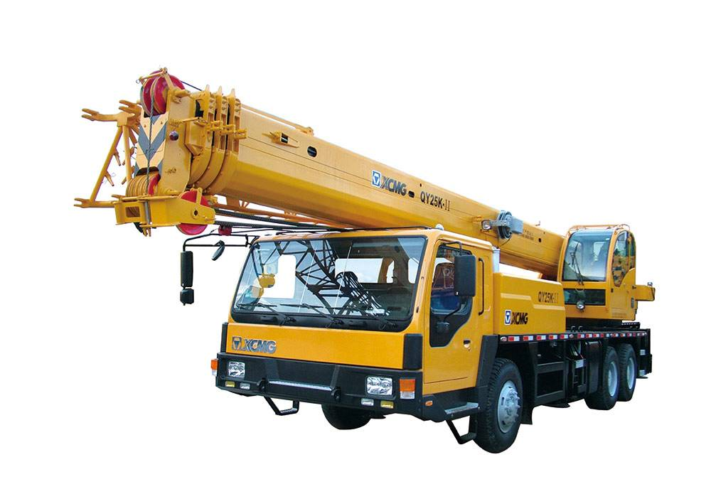 Engine power 206kw,XCMG Truck Crane QY25K-II