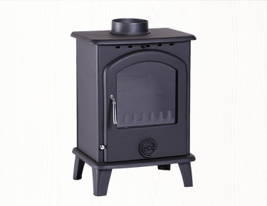cast iron fireplace for room heating CE approved