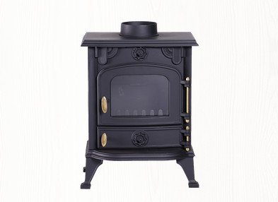 cast iron clean buring stoves with high-temperature resistant glass for heating