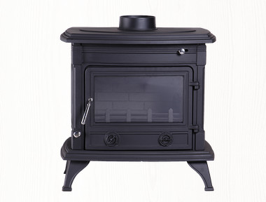 indoor cast iron material wood burning stoves hot sale
