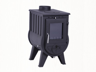 classic cast iron wood burning stoves with CE