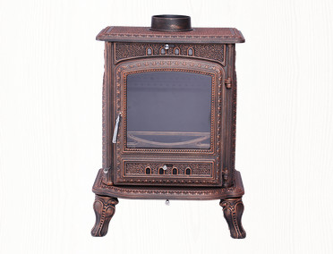 cast iron antique fire basket and fireplace
