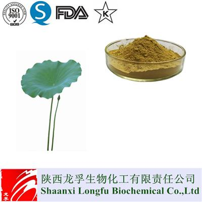 GMP Standard Lotus(Nelumbo Nucifera)Leaf Extract Powder,Nuciferine