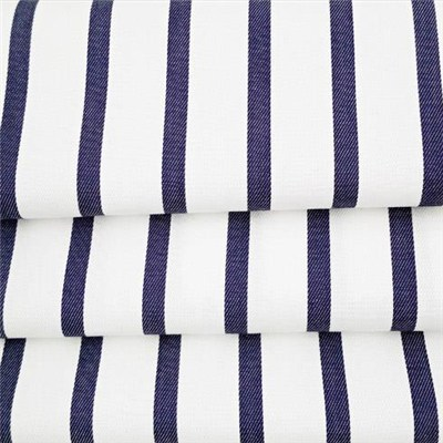 Cotton Cubic Effect Twill Stripe