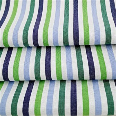 Colorful Cotton Dobby Textured Stripe