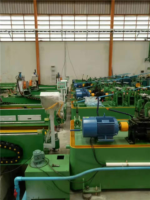 stair railing pipe making machine production line