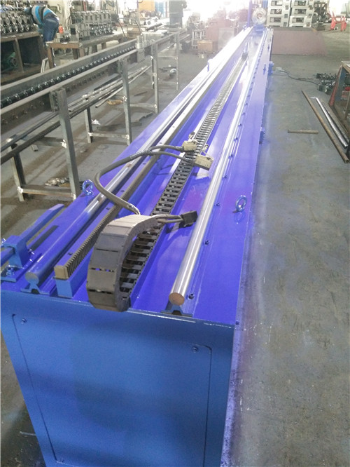 metal steel pipe twisting machine with customized design