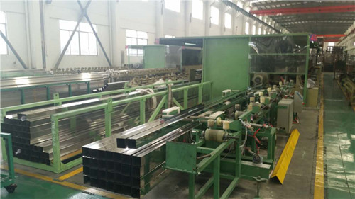 stainless steel square pipes and rectangle pipes/pipe polishing machine