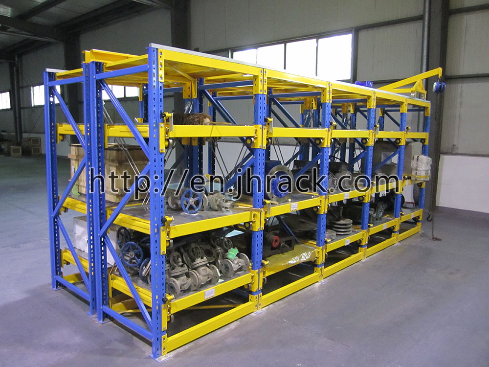 Heavy Duty Mould Storage Racks/Drawer Type Mould Rack/Draw-out racking