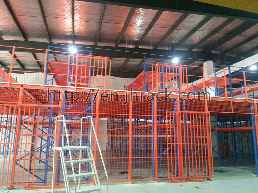 Supply of steel structure Mezzanine flooring with Multi-tier racking cheap metal rack