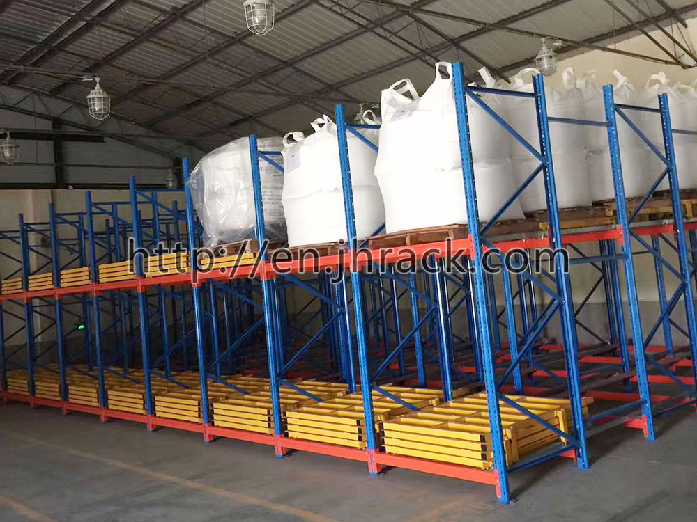 High quality push back pallet racking from China Professional Manufacturer