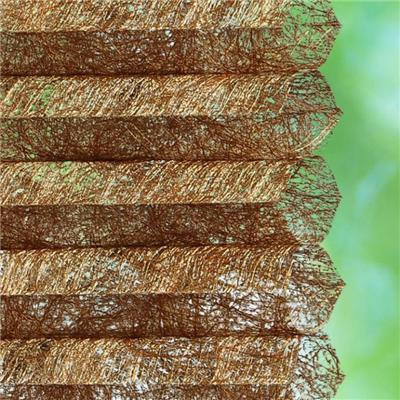 HMG, Golden Metal Material Honeycomb Blinds(shades) Fabric,cellular Shade Fabrics Manufacturer