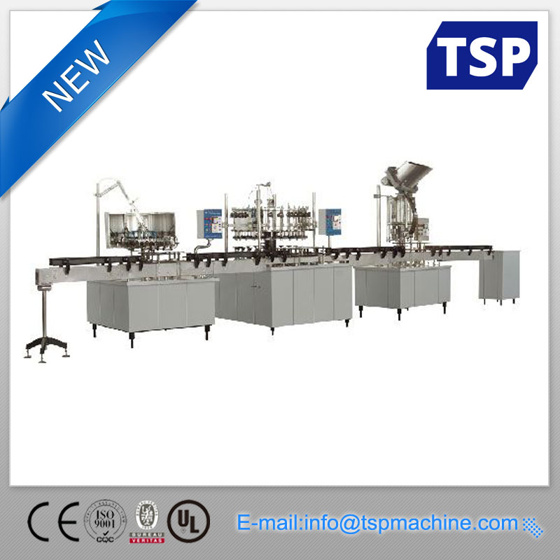 bottled water production machine, bottling line for sale
