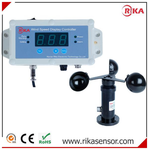 Hot Sale Crane Used Wind Speed Sensor and Alarm display Controller