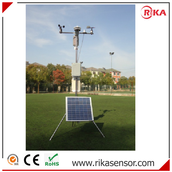Professional Automatic Weather Monitoring Station with Data Logger