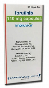 Imbruvica Ibrutinib 140 mg Capsules Wholesale Price India Supply