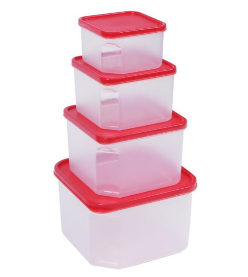 FDA LFGB approved and BPA free Square Food Storage Containers