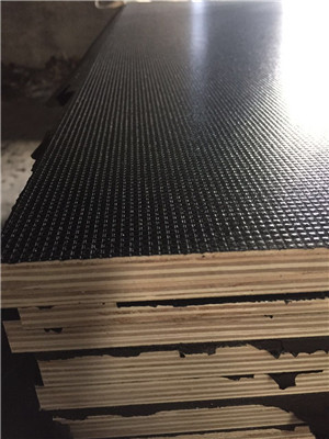 anti slip film faced plywood poplar core or eucalyptus MEl glue construction use