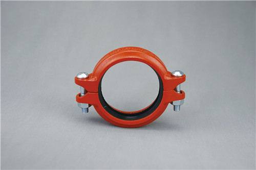 Grooved flexible pipe fitting pipe coupling
