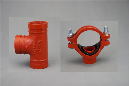 grooved pipe coupling and fitting/grooved tee/mechanical tee