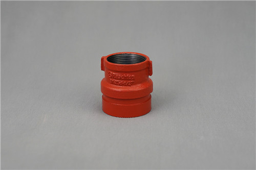 UL listed& FM approved ductile iron adapter nipple