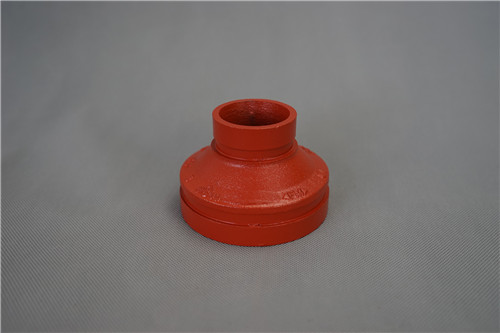 FM UL CE listed ductile iron grooved fitting/coupling/reducer/reducing tee