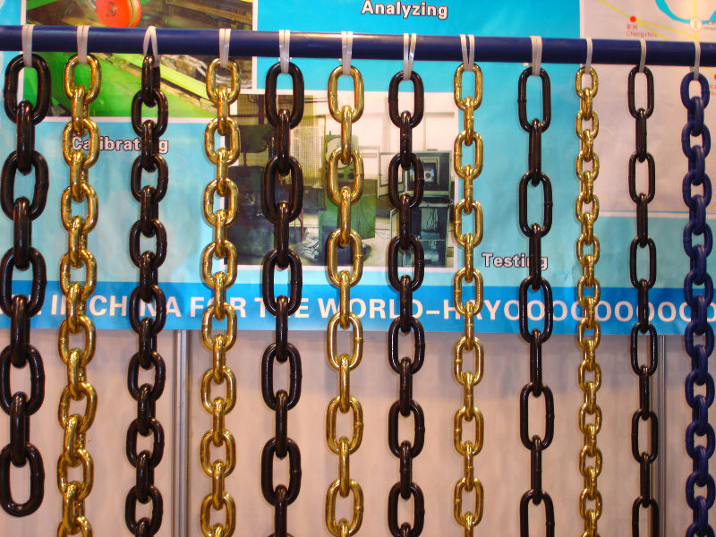 black oxide G80 /EN818-2 lifting chain
