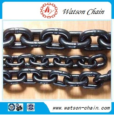 black painted G80 chain for lift / load