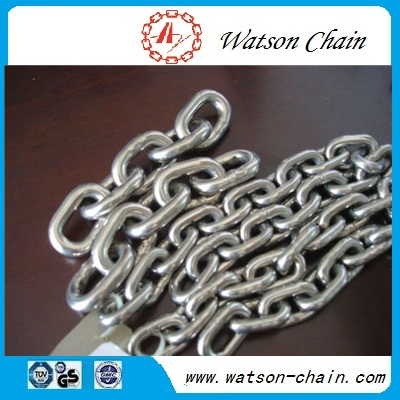 G40 SUS304/SUS316 calibrated stainless steel chain