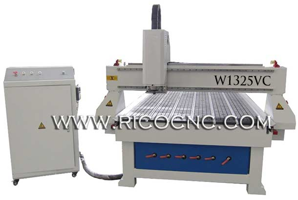 RICOCNC 3D Wavy Board Carving Machine MDF Wall Panels Cutting CNC Router CNC Sculpture Wood Machine W1325VC