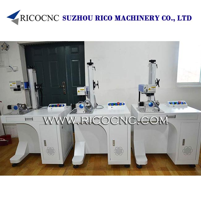 RICOCNC Tabletop Laser Marking Machine CNC Laser Mark Tool with Rotary Equipment
