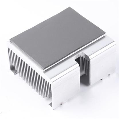one side or two side adhesive silicone sheet for CPU cooler