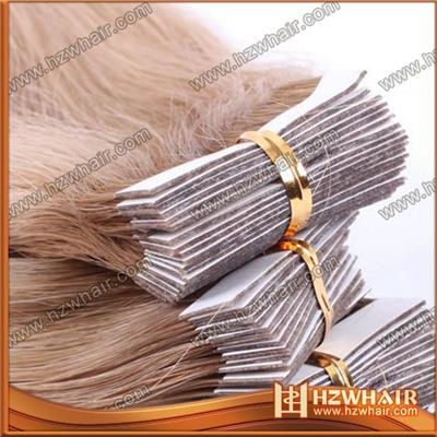 Wholesale Best Price Fashion Quality Top Hot Sale Newest Discount Cheap Clear Band Invisible Tape Hair Extensions Free Sample Manufactures