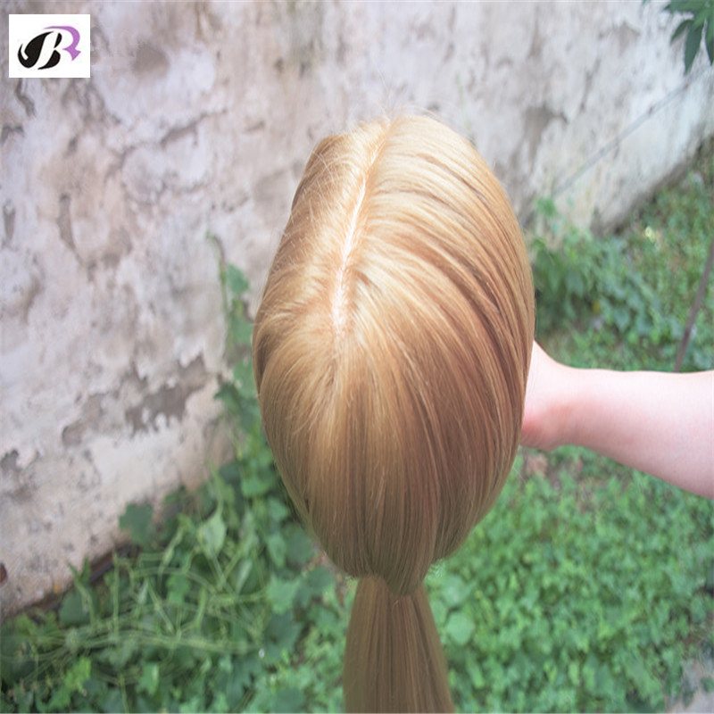 Hot Sale 26 Mannequin Head For Hairdresser Wig Manik Hairdressing Dummy Doll Heads Synthetic Hair Styling Mannequins Training