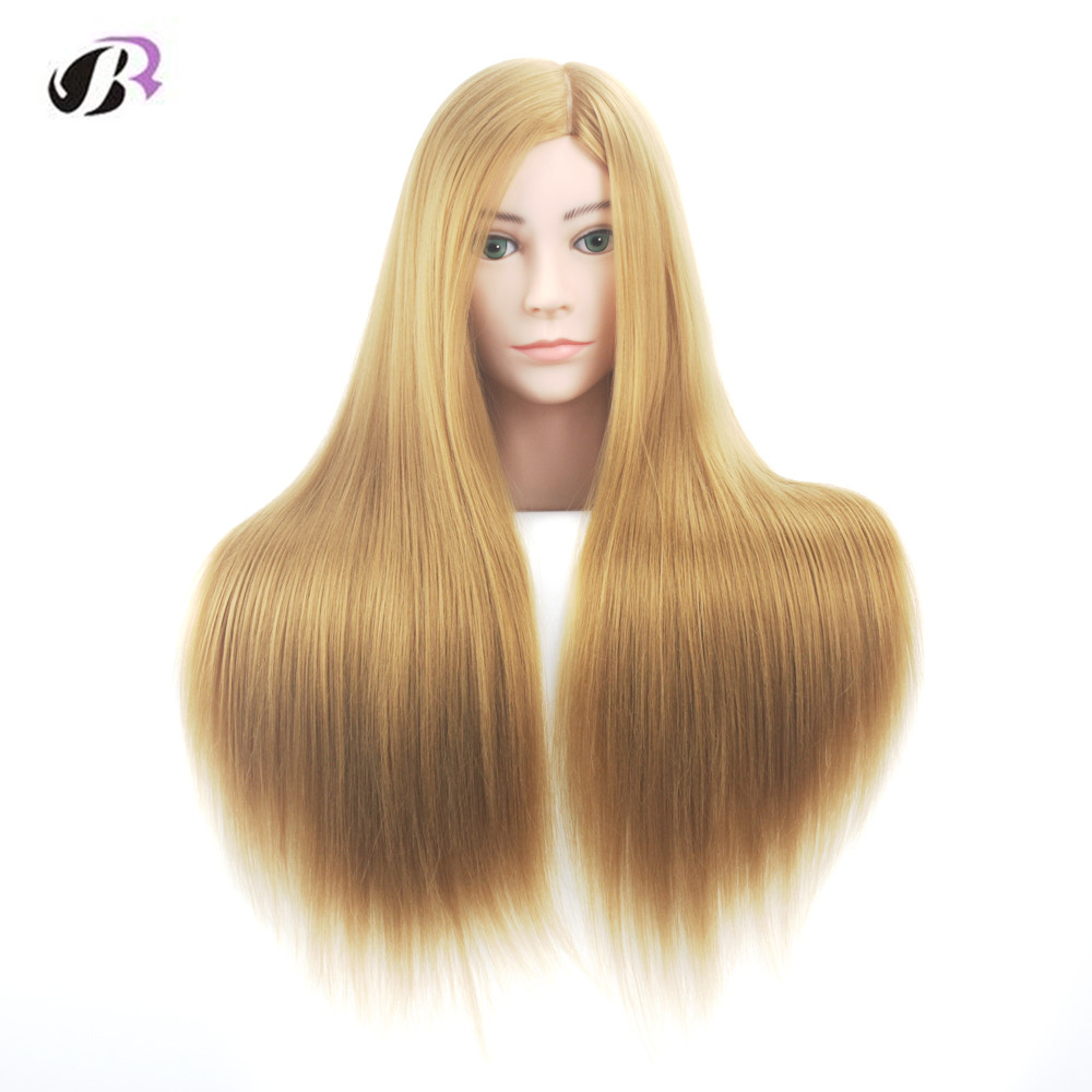 26Training Mannequin Head For Hairdresser Wig Manik Hairdressing Dummy Doll Heads Human Hair Styling Mannequins Training Doll