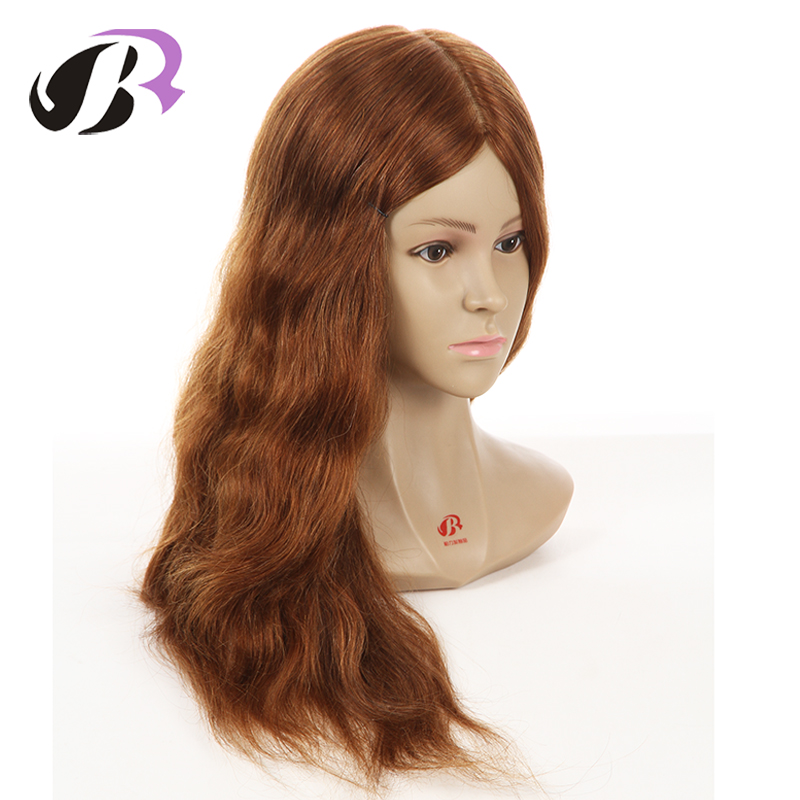 Hot Sale 18 Mannequin Head For Hairdresser Wig Manik Hairdressing Dummy Doll Heads Human Hair Styling Mannequins Training